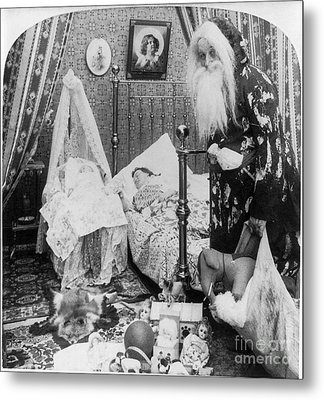 Christmas Eve, C1897 Metal Print by Granger