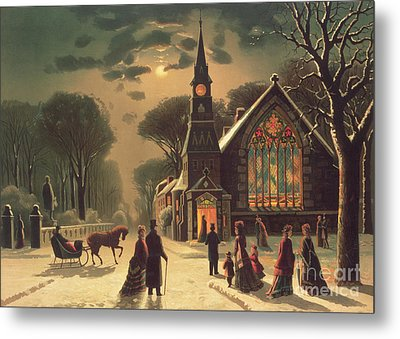Christmas Eve Metal Print by J Latham