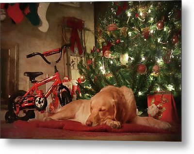 Metal Print featuring the photograph Christmas Eve by Lori Deiter