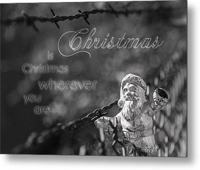 Christmas Everywhere Metal Print by Caitlyn Grasso