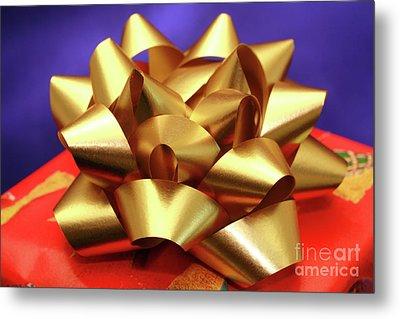 Christmas Gift Metal Print by Gaspar Avila
