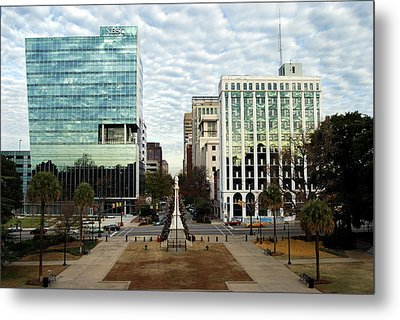 Christmas In Columbia Sc Metal Print by Skip Willits