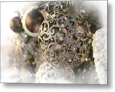Christmas Metal Print by Helga Novelli