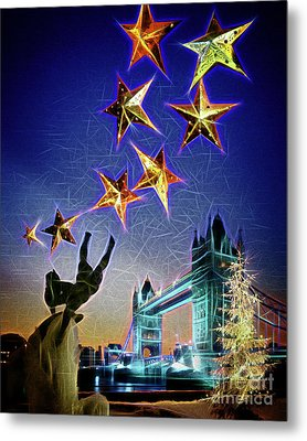 Christmas Time Metal Print by Edmund Nagele