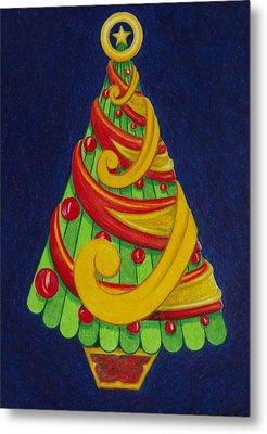 Christmas Tree No. Three Metal Print