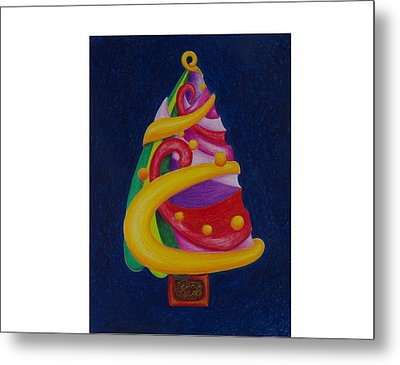 Christmas Tree No. Two Metal Print by Rick Ahlvers