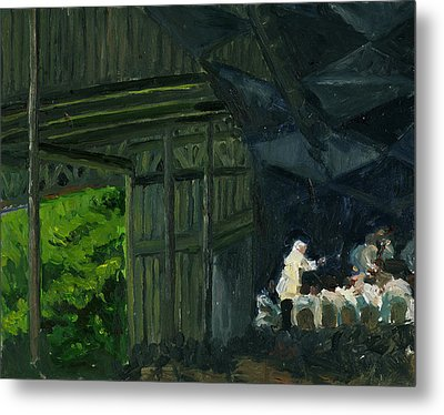 Christoph Von Dohnanyi At Tanglewood Metal Print by Jennifer Fox
