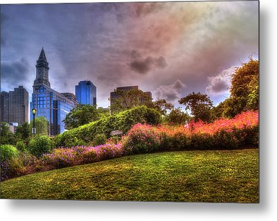 Christopher Columbus Park - North End Boston Metal Print