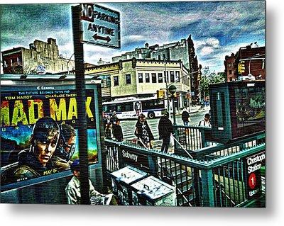 Christopher Street Greenwich Village  Metal Print by Joan Reese