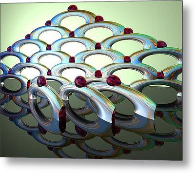 Chrome Sundae Metal Print by Scott Piers