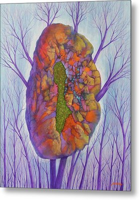 Chrysalis Metal Print by J W Kelly