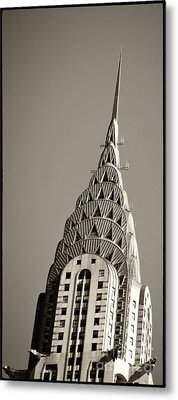 Chrysler Building New York City Metal Print by Juergen Held