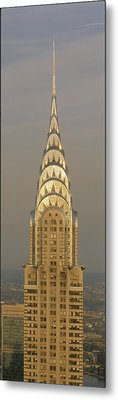 Chrysler Building New York Ny Metal Print by Panoramic Images