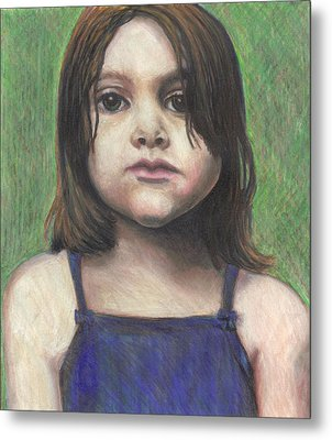 Chubby Cheeks Metal Print by Jean Haynes