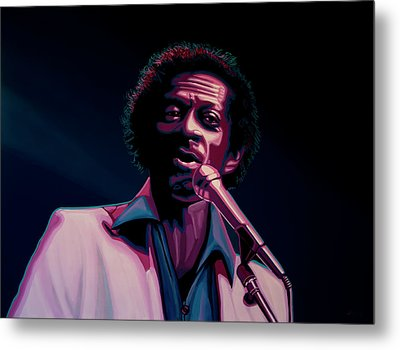 Chuck Berry Metal Print by Paul Meijering