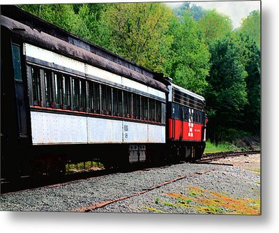 Metal Print featuring the photograph Chugging Along by RC DeWinter
