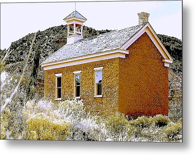 Church - Grafton Utah Metal Print