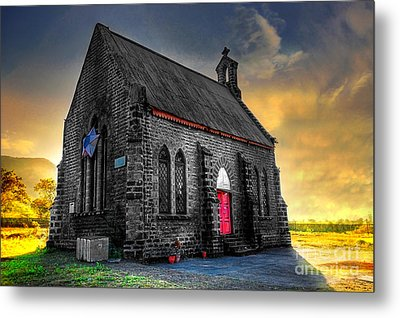 Church Metal Print by Charuhas Images