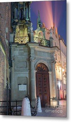 Metal Print featuring the photograph Church Door by Juli Scalzi