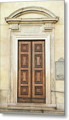 Church Door Metal Print