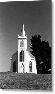 Church In Bodega Metal Print