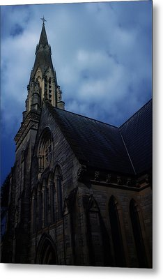 Church In Bournemouth - Uk Metal Print by Cambion Art