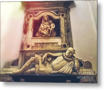 Church Interior Metal Print by HD Connelly