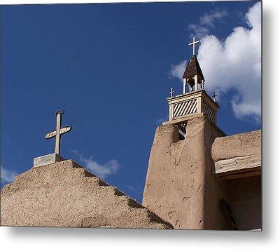San Jose De Gracia Church, Las Trampas, N.m. Metal Print