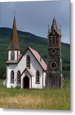 Church Metal Print by Marty Koch