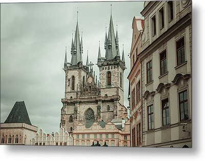 Metal Print featuring the photograph Church Of Our Lady Before Tyn by Jenny Rainbow