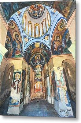Church Of St. George, Kyustendil, Bulgaria Metal Print by Henrieta Maneva