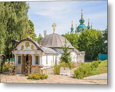 Church Of St. Nicholas Of Myra, In Kiev Metal Print