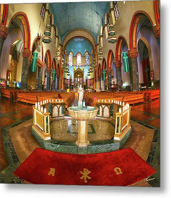 Metal Print featuring the photograph Church Of St. Paul The Apostle by Mitch Cat