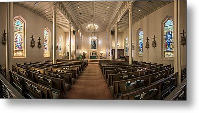 Church Of The Assumption Of The Blessed Virgin Pano Metal Print