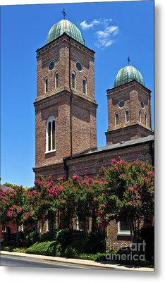 Metal Print featuring the photograph Church Of The Immaculate Conception One by Ken Frischkorn
