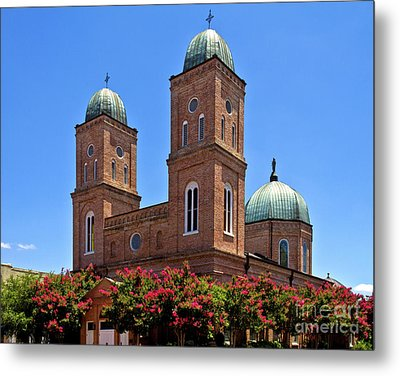 Metal Print featuring the photograph Church Of The Immaculate Conception Two by Ken Frischkorn