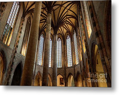 Metal Print featuring the photograph Church Of The Jacobins Interior by Elena Elisseeva
