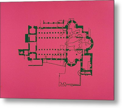 Church Of The Nativity Metal Print by Jessica Pope