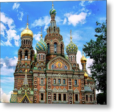 Church Of The Spilled Blood Metal Print by Gary Little