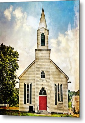 Church On 8 Metal Print by Marty Koch
