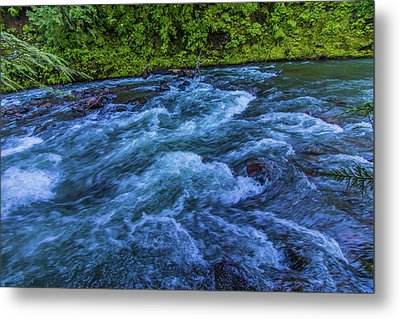 Metal Print featuring the photograph Churning Water by Jonny D