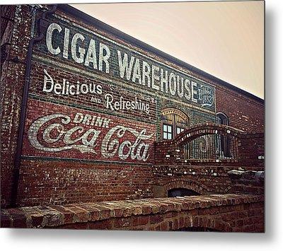 Cigar Warehouse Greenville Sc Metal Print