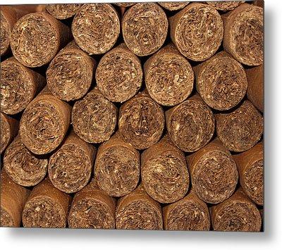 Cigars 262 Metal Print