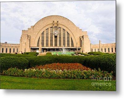 Cincinnati Museum Center At Union Terminal Metal Print by Paul Velgos