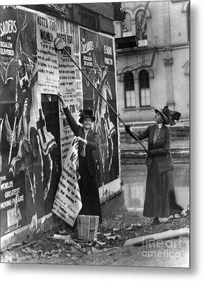 Cincinnati: Suffragettes Metal Print by Granger