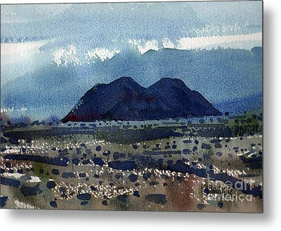 Cinder Cone Death Valley Metal Print by Donald Maier