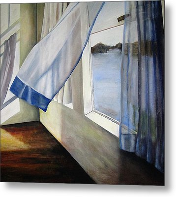 Cindy's Window Metal Print by Eileen Kasprick