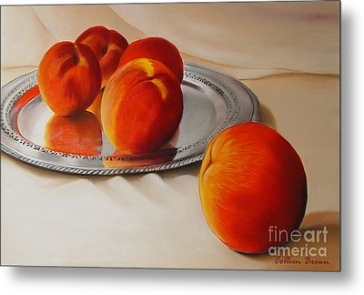 Cinque Pesche Metal Print by Colleen Brown