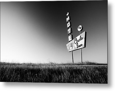 Circle Inn Metal Print by Todd Klassy
