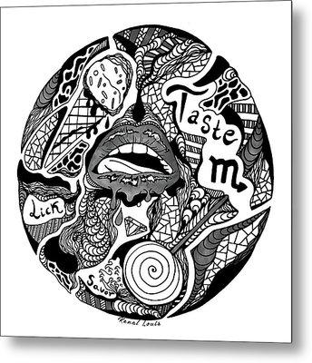 Circle Of Taste Metal Print